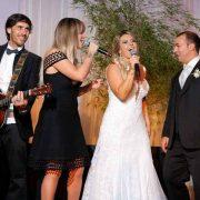 Claus e Vanessa para casamento